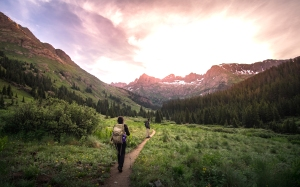 Sunrise hike in Chicago Basin, Colorado