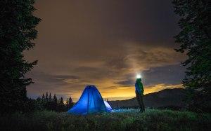 Camping near Crystal Lake, Colorado